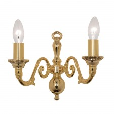 Amaro Decorative Wall Light - Gold Plate