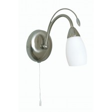 Antwerp Decorative Wall Light - Antique Chrome