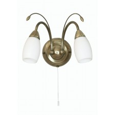 Antwerp Decorative Wall Light - Antique Brass