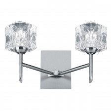 Ice cube Wall Light (Switched)- Dual Cube