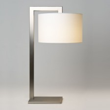 Astro Lighting Ravello Table Lamp -1 Light, Matt Nickel