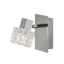 Danae Single Wall Spotlight - 1 Light, Chrome