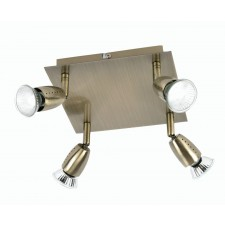 Ecco Spot Light - Antique Brass