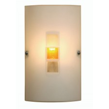 Muro Flush Wall Light - Amber