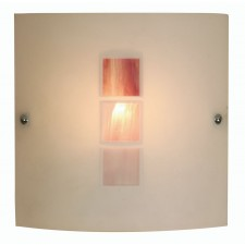 Muro Flush Wall Light - Pink