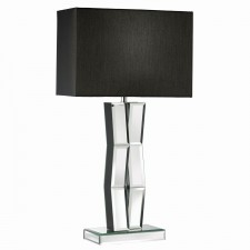 Reflection Mirror/Black Table Lamp -