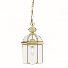 Lantern Traditional - 1 Lamp Polished Brass