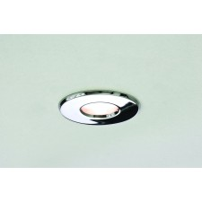 Astro Lighting Kamo 230v Fire Rated Downlight - 1 Light, polished chrome