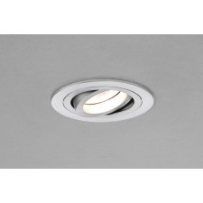 Astro Lighting Taro Adjustable 230v Downlight - 1 Light, Brushed Aluminium