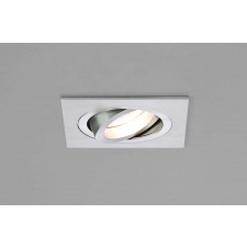 Astro Lighting Taro 230v Adjustable Downlight - 1 Light, Brushed Aluminium