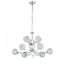 Bellis II - 9 Light Chrome Pendant