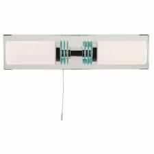 Flush Bathroom Wall Light (Switched)
