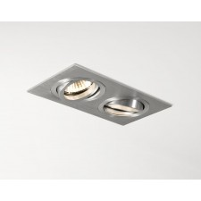 Astro Lighting Taro Downlight - 2 Light, Brushed Aluminium