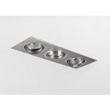 Astro Lighting Taro Downlight - 3 Light, Brushed Aluminium