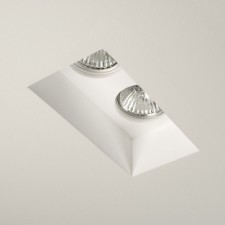 Astro Lighting Blanco Ceiling Light - 2 Light, White
