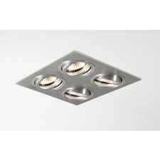 Astro Lighting Taro Downlight - 4 Light, Brushed Aluminium