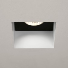 Astro Lighting Trimless Square Downlight - 1 Light, White