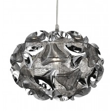 Triangle Aluminium Pendant Light - 1 Light, Chrome