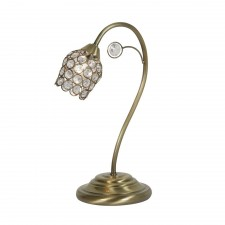 Forli Table Lamp - Antique Brass