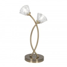 Oaks Lighting 6035/2 TL AB Jeo Antique Brass