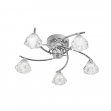 Oaks Lighting 6035/5 CH Jeo Chrome Ceiling Light
