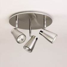 Astro Lighting Scala Spotlight - 3 Light, Brushed Aluminium