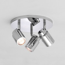Astro Lighting Como Spotlight - 3 Light, Polished chrome