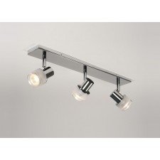 Astro Lighting Tokai Linear Spotlight Fitting - 3 Light, Polished chrome