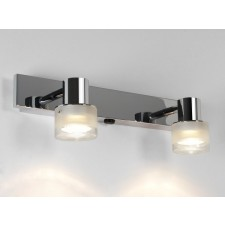 Astro Lighting Tokai Over Mirror Light - 2 Light, Polished chrome