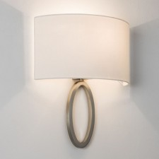 Astro Lighting Lima Wall Light -1 Light, Matt Nickel
