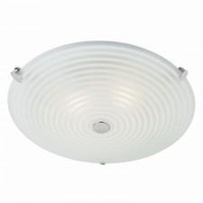 Modern Glass Flush Ceiling Light