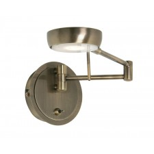 Orin Single Wall Light - Antique Brass
