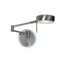 Orin Single Wall Light - Antique Chrome