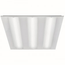 Fluorescent - Led Ceiling Tile, White