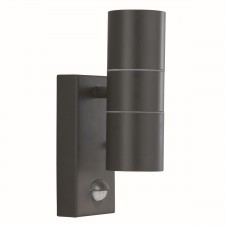IP44 Outdoor Light - Motion Sensor/Black