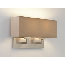 Astro Lighting Park Lane Grande Wall Light - 2 Light, Matt Nickel