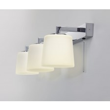Astro Lighting Triplex Wall Light -3 Light, Polished Chrome