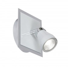 Milo Single Spotlight Wall Light - White