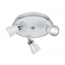 Milo Ceiling Spotlight - 3 Light, White