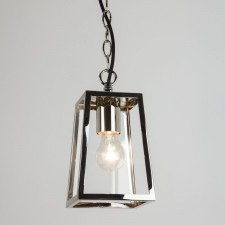 Astro Lighting Calvi 1 Light Pendant Polished Nickel