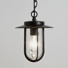 Astro Lighting Montparnasse 1 Light Pendant Black