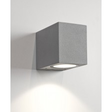 Astro Lighting Chios 80 Wall Light Silver - 1-Light