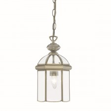 Lantern Traditional - 1 Lamp Antique Brass