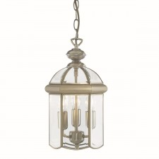 Lantern Light - 3 Lamp Antique Brass