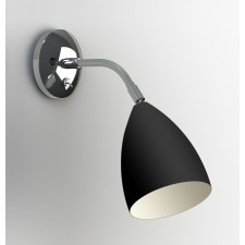 Astro Lighting Joel Wall Light -1 Light, Black