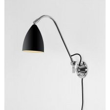 Astro Lighting Joel Grande Wall Light - 1 Light, Black