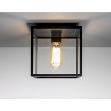 Astro Lighting Box 1 Light Ceiling Light Black
