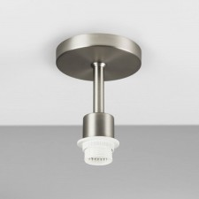 Astro Lighting Semi Flush Unit - 1 Light, Matt Nickel