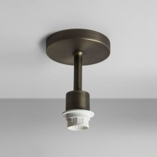 Astro Lighting Semi Flush Unit - 1 Light, Bronze
