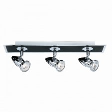 Comet Ceiling Light- 3 Spot Black & Chrome